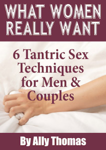What Women Really Want by Ally Thomas